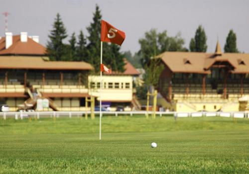 Golf course - at the racetrack - Karlovy Vary